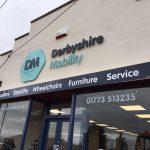 derbyshire mobility shop