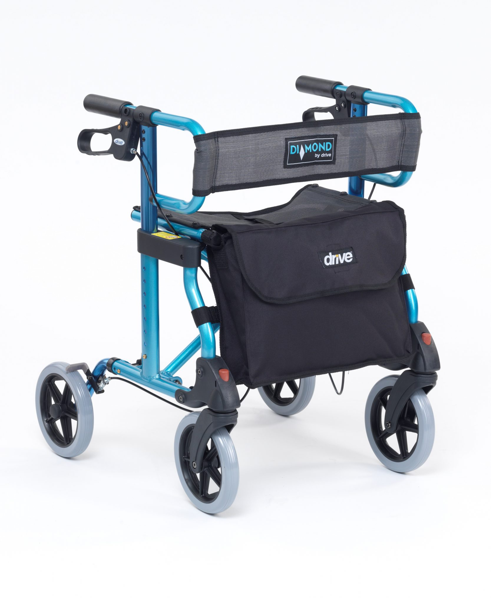 Diamond Rollator in Marine Blue 740B (2)
