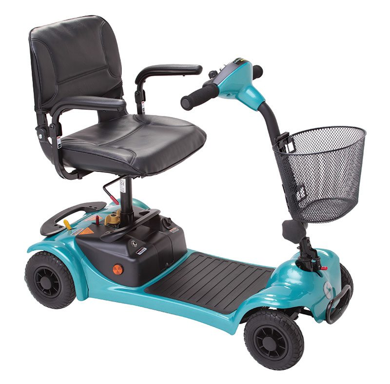 teal mobility scooter