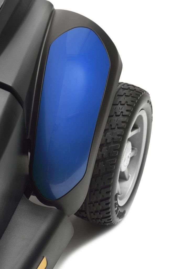 mobility scooter blue